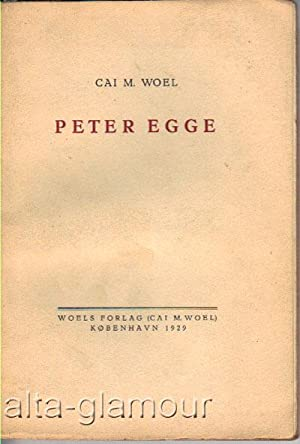 PETER EGGE: Woel, Cai M.