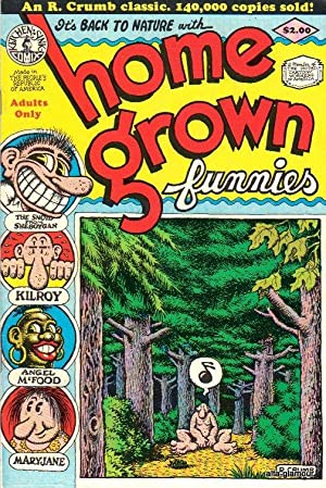 HOME GROWN FUNNIES: Crumb, R.