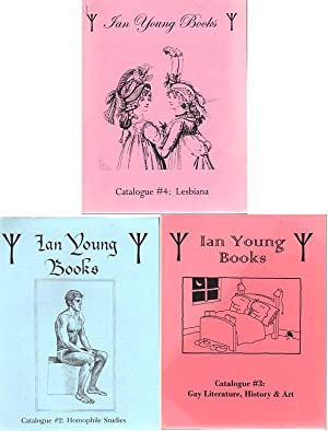 IAN YOUNG, BOOKS [set of three catalogues]; Homophile Studies; Gay Literature, History & Art; ...