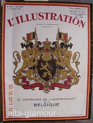 L'ILLUSTRATION; Journal Hebdomadaire Universal No. 4557, 5 Juillet 1930 - Le Centenaire de l&#...