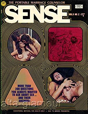 SENSE; The Portable Marriage Counselor Vol. 3, No. 2, December/January 1972-1973