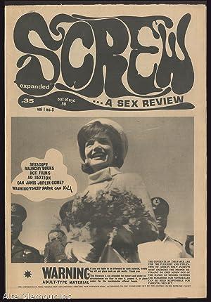 SCREW; A Sex Review Vol. 1. No. 5: Goldstein, Al (Editor)