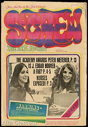 SCREW; The Sex Review Number 0011, May 2, 1969: Goldstein, Al (Editor)