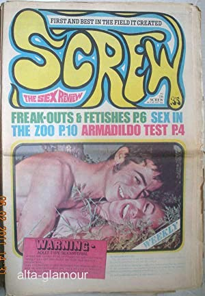 SCREW; The Sex Review Number 0016, June 6, 1969: Goldstein, Al (Editor)