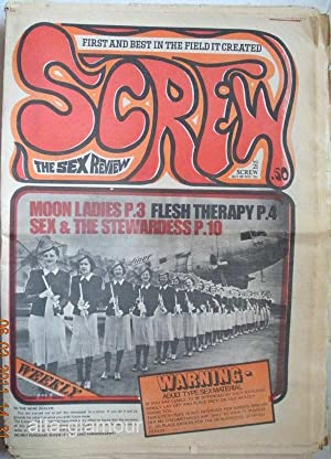 SCREW; The Sex Review Number 0021, July 25, 1969: Goldstein, Al (Editor)