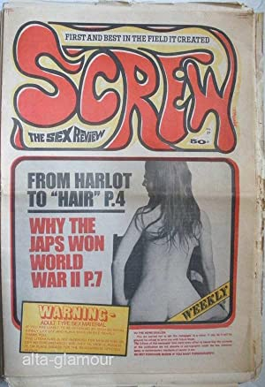SCREW. The Sex Review Number 0029, September 22, 1969: Goldstein, Al (Editor)