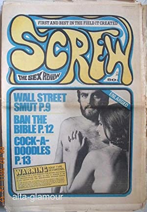 SCREW; The Sex Review Number 0030, September 29, 1969: Goldstein, Al (Editor)