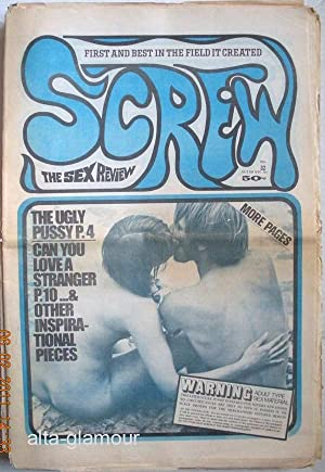SCREW; The Sex Review Number 0032, October 13, 1969: Goldstein, Al (Editor)
