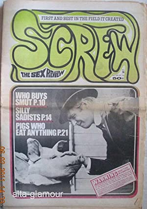 SCREW; The Sex Review Number 0038, November 24, 1969: Goldstein, Al (Editor)