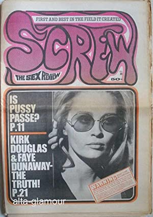 SCREW; The Sex Review Number 0039, December 1, 1969: Goldstein, Al (Editor)