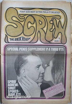 SCREW. The Sex Review Number 0040, December 8, 1969: Goldstein, Al (Editor)