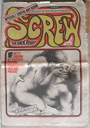 SCREW; The Sex Review Number 0069, June 29, 1970: Goldstein, Al (Editor)
