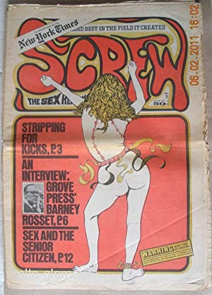 SCREW; The Sex Review Number 0071, July 13, 1970: Goldstein, Al (Editor)