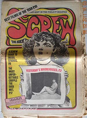 SCREW; The Sex Review Number 0098, January 18, 1971: Goldstein, Al (Editor)