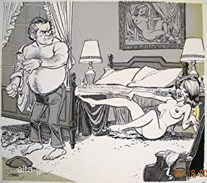 THE HORNY HEIRESS - ORIGINAL ARTWORK. Swingle Vol. 14, No. 04, March: Benford, R. D. and James ...