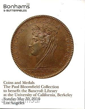 BONHAMS & BUTTERFIELDS - COINS AND MEDALS.: Bonhams & Butterfields