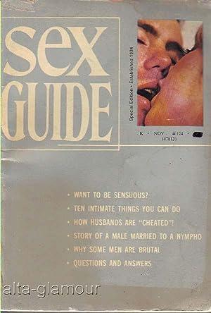SEX GUIDE No. 124, November