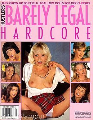 HUSTLER'S BARELY LEGAL HARDCORE Vol. 01, No. 01, 2000