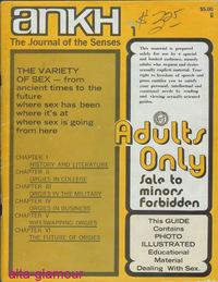 ANKH; The Journal of the Senses Vol. 05, No. 01, Issue No. 17, Autumn Quarter 1971