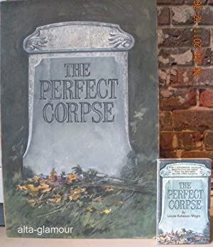 THE PERFECT CORPSE - BOOK AND ORIGINAL ARTWORK