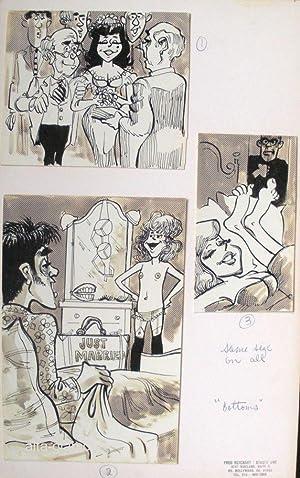 UNTITLED - ORIGINAL ARTWORK; Bottoms