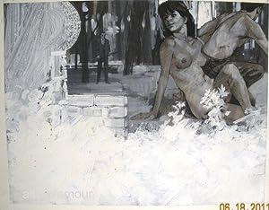UNTITLED - ORIGINAL ARTWORK; Quickie