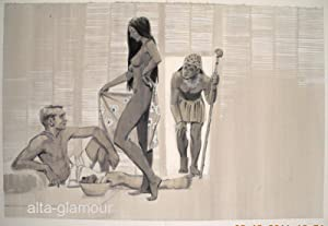 THE MOST DANGEROUS RITUAL - ORIGINAL ARTWORK; Showcase