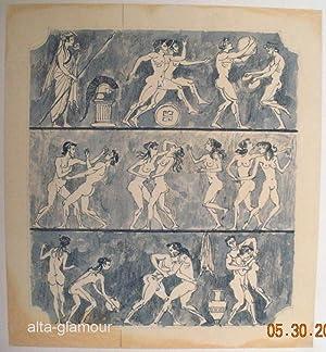 UNTITLED - ORIGINAL ARTWORK; Sun Era