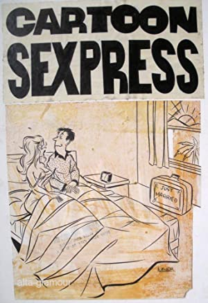 CARTOON SEXPRESS - ORIGINAL ARTWORK