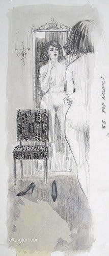 UNTITLED - ORIGINAL ARTWORK; Popular Nudist