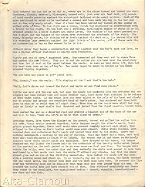 "UNTITLED TYPESCRIPT - AMERICA GAY EROTICA; [""Hank entered the bar and as he did so, every eye ..."