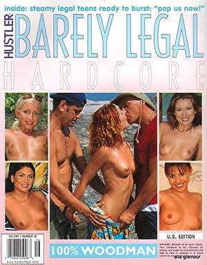 HUSTLER'S BARELY LEGAL HARDCORE Vol. 01, No. 16, 2002