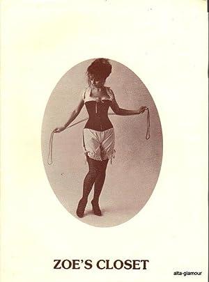 ZOE'S CLOSET; [Corsets and lingerie]