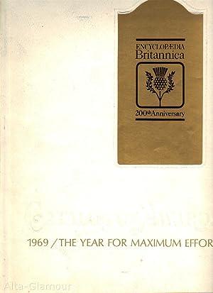 ENCYCLOPAEDIA BRITANNICA CATALOG OF AWARDS; 1969: The Year for Maximum Effort