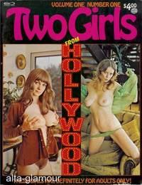 TWO GIRLS FROM HOLLYWOOD Vol. 01, No. 01, July / August