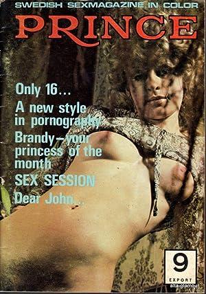 PRINCE; Swedish Sexmagazine in Color