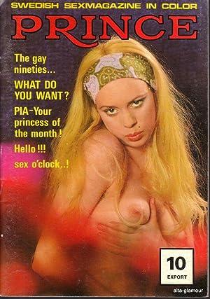 PRINCE; Swedish Sexmagazine in Color No. 10