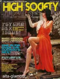 HIGH SOCIETY; The Magazine That Does It All! Vol. 01, No. 10, February 1977