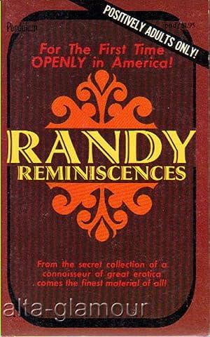 RANDY REMINISCENCES