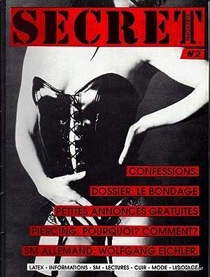 SECRET Magazine: Boedt, Juergen and Francis Dedobbeleer (editors)