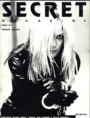 SECRET Magazine; English Edition: Boedt, Juergen (Editor)