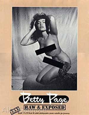 BETTY PAGE: RAW & EXPOSED: Yeager, Bunny (photos)