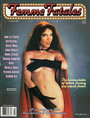 FEMME FATALES; The Luscious Ladies of Horror, Fantasy, and Science Fiction Vol. 1, No. 1, Summer