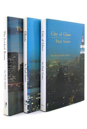 The New York Trilogy: City of Glass,: Paul Auster