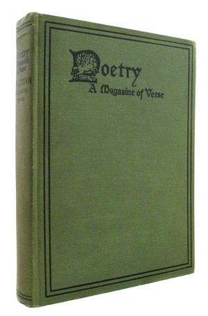 Poetry : A Magazine of Verse Volume: Contributor) Louis Zukofsky,