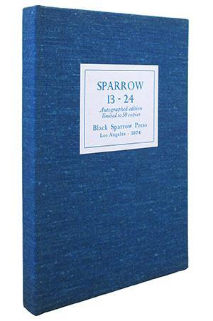 Sparrow 13- 24: Black Sparrow Press,