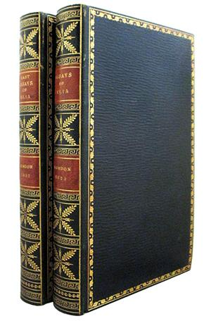 Charles Lamb  Essays Of Elia  Abebooks Elia Essays Which Have Appeared Under That Charles Lamb
