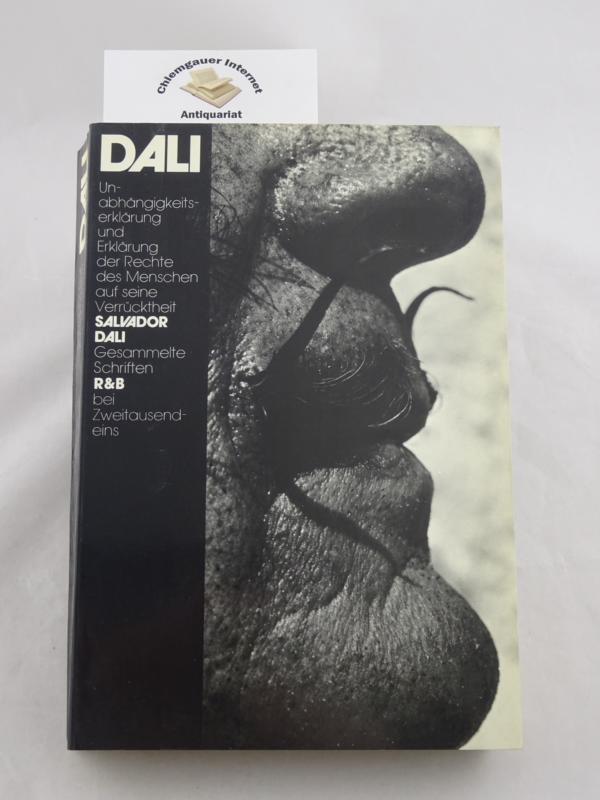 Unabhängigkeitserklärung der Phantasie und Erklärung der Rechte: Dalí, Salvador: