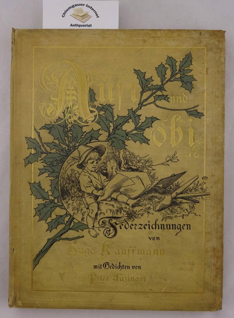 Aufi und obi. Zwanzig Federzeichnungen von Hugo: Anzinger, Peter und