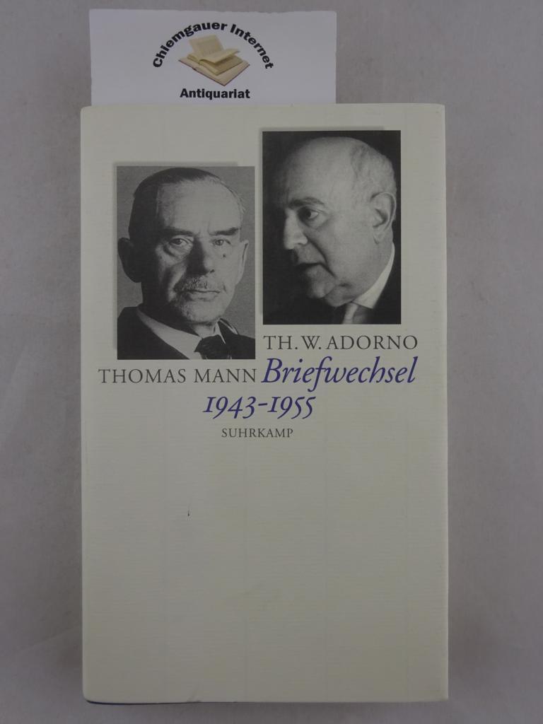 Briefwechsel : 1943 - 1955. Herausgegeben von: Adorno, Theodor W.